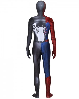 Halloween Venom Spider-Man Cosplay Jumpsuit CP008