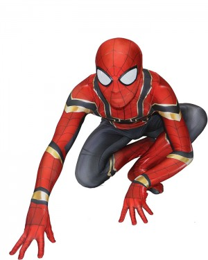 Avengers Endgame Iron Spider Costume Cosplay Jumpsuit CP009