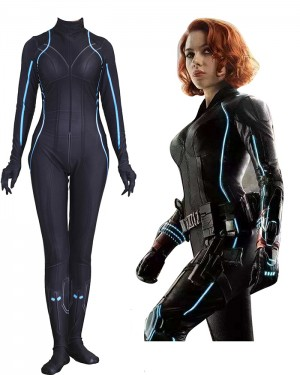 Marvel Avengers Black Widow Cosplay Jumpsuit CP011