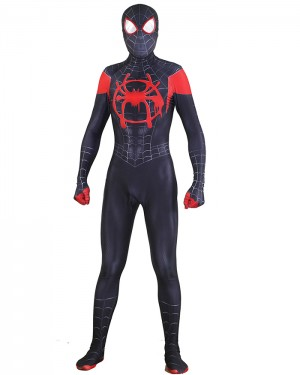 Spider-Man Into the Spider-Verse Miles Morales Cosplay Jumpsuit CP012