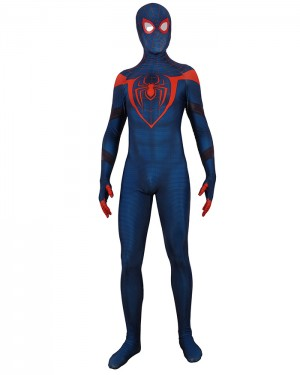 Halloween Hero Cosplay PS5 Miles Morales Spider Man Bodysuit HC002