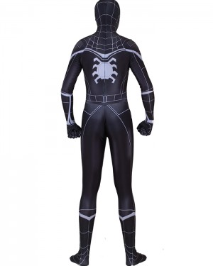 Halloween Hero Man Cosplay Black Spiderman Homecoming Bodysuit HC012