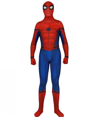 Halloween Hero Man Cosplay Spiderman Homecoming Bodysuit HC017