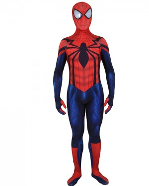 Halloween Superior Spiderman Bodysuit HC018
