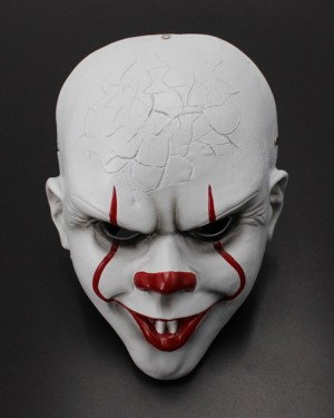 Horror Movie 2019 IT Clown Mask without Hair HM002