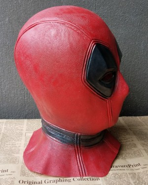 High Quality Deadpool Latex Mask Free Shipping HM004