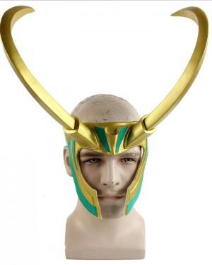 Thor 3 Mask Ragnarok Loki Laufeyson Cosplay Mask HM021
