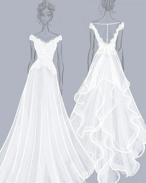 Custom Made Wedding Dresses | Design Bridal Gown Online | Custom Dress Maker